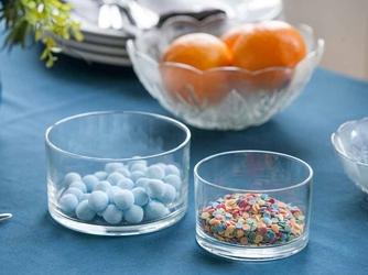 Salaterka  miseczka szklana edwanex, komplet 2 salaterek 11 cm i 14 cm
