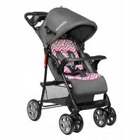 Lionelo emma plus pink scandi wózek składany na płasko + torba