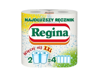 Regina najdłuższy, ręcznik kuchenny, 2 rolki