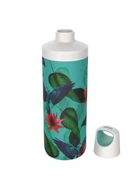 Butelka termiczna kambukka reno insulated 500 ml - parrots - wielokolorowy    niebieski
