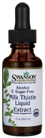 Swanson milk thistle liquid extract ostropest plamisty 29,6ml