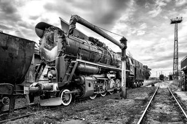 Fototapeta lokomotywa 3366