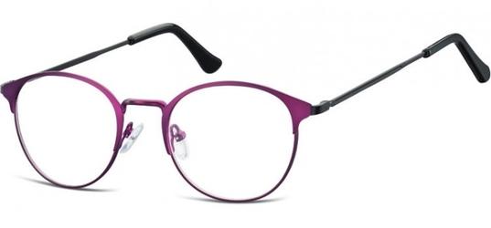 Oprawki okularowe lenonki damskie stalowe sunoptic 973g fioletowe
