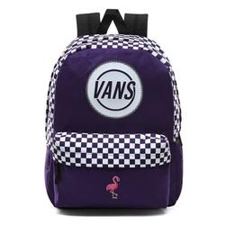 Plecak szkolny vans taper off realm - vn0a48gmsf5 - custom flamingo