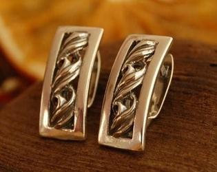 Copacabana - srebrne kolczyki piękne srebro