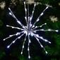 Gwiazda dekoracyjna świąteczna 80 led zimny biały