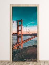 Fototapeta na drzwi most golden gate fp 2255 d