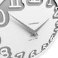 Zegar ścienny labyrinth calleadesign oliwkowo-zielony 10-002-54