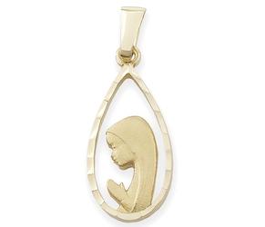 Medalik z wizerunkiem matki bożej - 28608