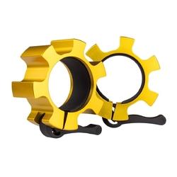 Zaciski zg1500 do gryfów olimpijskich 50mm 2szt złote - hms