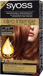 Syoss oleo, farba do włosów, 6-76 złocista miedź