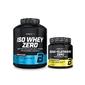 Bio tech usa iso whey zero 2270 g bcaa glutamine zero 480 g