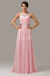 Suknia wieczorowa z kryształkami