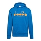 Bluza męska diadora hoodie 5palle offside - niebieski