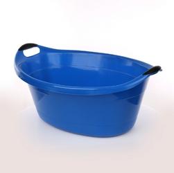 Miska  wanienka plastikowa artgos owalna niebieska 40 l