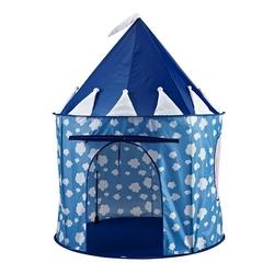 Namiot dla dzieci do zabawy kids concept - niebieski w chmurki