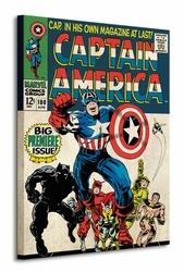Captain America Premier - Obraz na płótnie