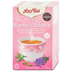 Herbata dla kobiet - równowaga yogi tea bio 17 torebek