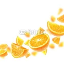 Plakat na papierze fotorealistycznym pomarańcze