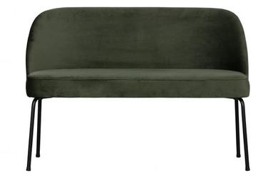 Be pure ławka do jadalni vogue aksamit onyksowy 800086-501