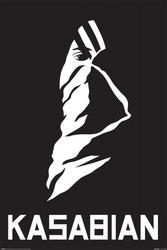 Kasabian ultra face - plakat