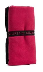 Ręcznik sportowy gözze sports 70 x 140 cm - różowy
