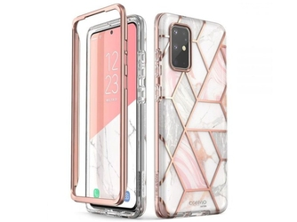 Etui supcase cosmo do samsung galaxy s20 plus marble pink