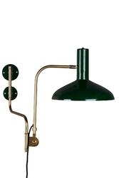 Dutchbone lampa ścienna devi zielona 5400008