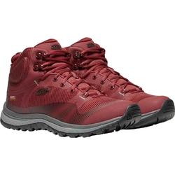 Buty trekkingowe damskie keen terradora mid wp - czerwony
