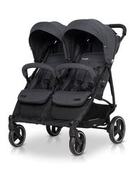 Easygo domino coal wózek spacerowy bliźniaczy + torba dla mamy gratis