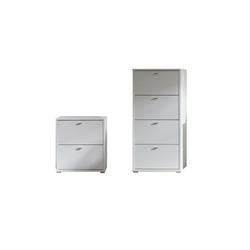 Zestaw garderoba Anter 3 białe