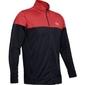 Bluza męska under armour sportstle pique jacket - czerwony