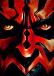 Face it star wars gwiezdne wojny - darth maul - plakat wymiar do wyboru: 29,7x42 cm