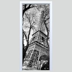 Naklejka na drzwi wieża eiffla 253s