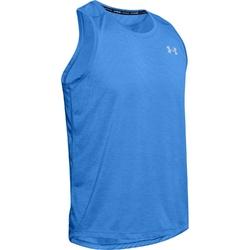 Koszulka męska under armour streaker 2.0 singlet - niebieski