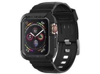 Etui spigen rugged armor pro do apple watch series 4 44mm black
