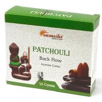 Paczuli - kadzidełka stożkowe typu backflow op. 10 szt