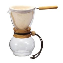 Zaparzacz do kawy 480 ml Drip Pot Olive Wood Hario