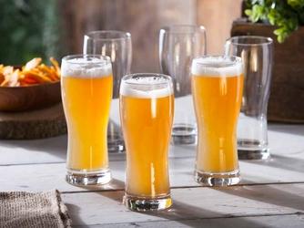 Szklanki do piwa hrastnik praga 350 ml, komplet 6 szt.