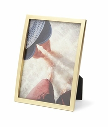 Ramka na zdjęcia Senza 13 x 18 cm matowy mosiądz