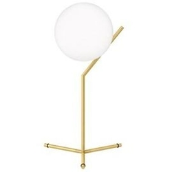 Flos :: lampa stołowa ic t1 high - mosiądz