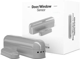Fibaro doorwindow sensor srebrny kontaktron drzwiowo-okienny - szybka dostawa lub możliwość odbioru w 39 miastach