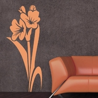Kwiaty 989 naklejka