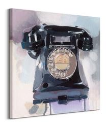Call exchange - obraz na płótnie