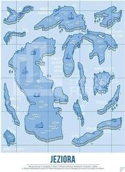 Plakat jeziora 30 x 40 cm