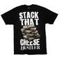 Koszulka hustler -stack cheese blk