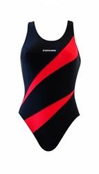 Sesto senso bd 729 czarny kostium kąpielowy