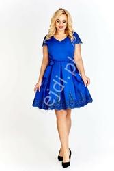 Koktajlowa sukienka plus size -aurelia chabrowa