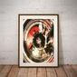 Abstrakcja iv - plakat premium wymiar do wyboru: 21x29,7 cm