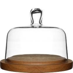 Deska do sera ze szklaną pokrywą Sagaform Oak SF-5026044